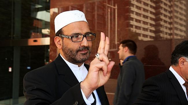 Sheik Man Haron Monis, the man who took the hostages.