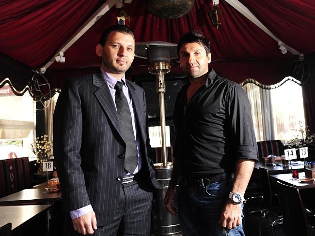 Mustafa Krich (left) and Sam Sakalaki