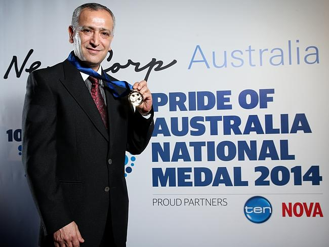 Pride Of Australia Medal winner Dr Jamal Rifi / Picture: Richard Dobson