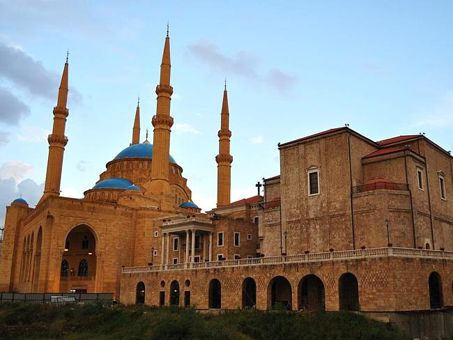 Where else in the world would you see a mosque and church side by side?