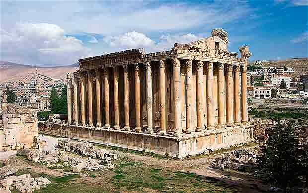 Temple of Bacchus at Baalbek (Photo: ALAMY)