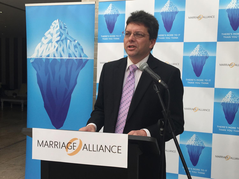 Tio Faulkner representing Marriage alliance