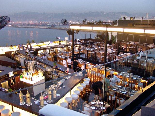 Sky Bar, Beirut Lebanon