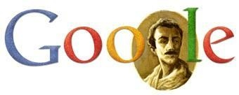 On its main page, website Google pays tribute to Lebanese-American author and artist Gibran Khalil Gibran