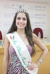 Triumph for Brazilian in Miss Lebanon Overseas contest