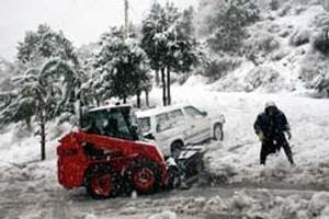 Arrival of winter takes Lebanon by storm
