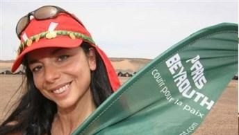 Lebanese Gloria Nasr runs from France to Lebanon