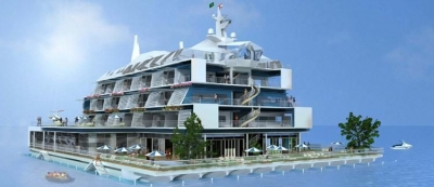 Jounieh Floating Island