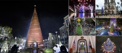 Byblos Christmas tree is chosen among the best by the wall street journal