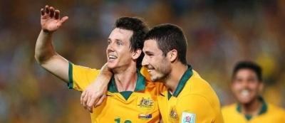 Outstanding Australia beats Oman 4-0 to secure quarter-final place