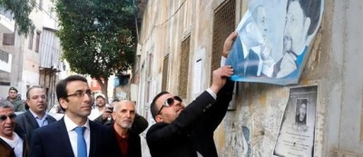 State begins removing political signs in Beirut, Tripoli