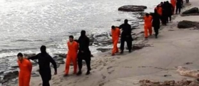 Islamic State video shows beheadings of Egyptian Christians taken hostage in Libya