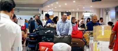 Deported Lebanese arrive at Beirut airport