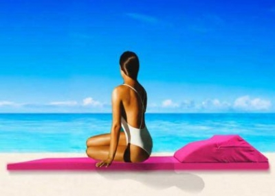 Lebanese student invents eco-friendly, smart beach towel called Beachill (video)
