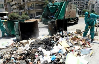 Trash collection resumes in Beirut ... for now