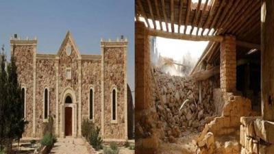 ISIS Destroys 5th Century Assyrian Monastery in Syria