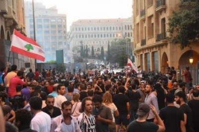 Downtown Beirut Turns into War Zone as Police Battle Anti-trash Protesters
