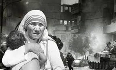 Mother Teresa, the war in Lebanon and the rescue of 100 orphans and children with disabilities