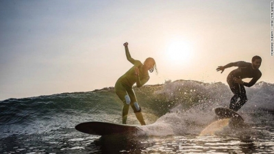 CNN: Lebanon, The Mediterranean's unlikely surf destination