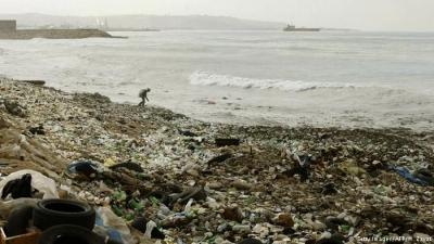 Lebanon garbage crisis pollutes Mediterranean
