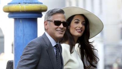 Amal and George Clooney are sending 3,000 Syrian refugees to school in Lebanon