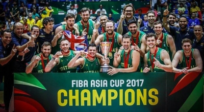 Australia crowned FIBA Asia Cup 2017 champions