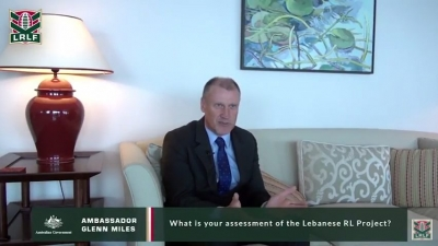 LRLF Interview with HE Mr. Glenn Miles the Australian Ambassador to Lebanon