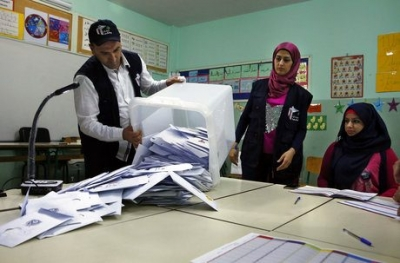 Early Results Emerge in Lebanon's Parliamentary Vote