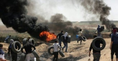 52 Killed, Over 2,400 Hurt as Tens of Thousands Protest on Gaza Border