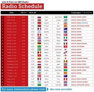 Radio Schedule 1