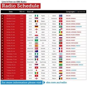 Radio Schedule 2