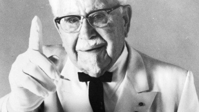 The inspiring life story of KFC's Colonel Sanders (watch video)