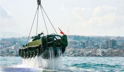 Lebanon Sinks Old Tanks to Create Underwater Dive 'Park'